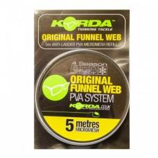 Сетка PVA запасная Korda Funnel Web Micromesh 5m